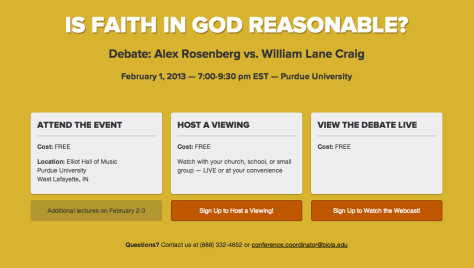 Is Faith in God Reasonable Debate