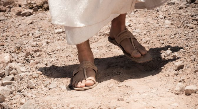Earthly Footsteps of The Man of Galilee: Rock upon Which Jesus Leaned