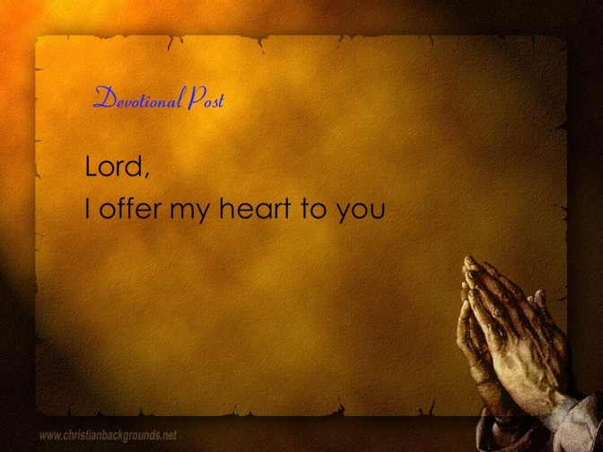 Devotional: I Will Never Leave You Nor Forsake You