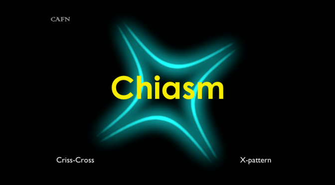 Friday Phraseology: Chiasm