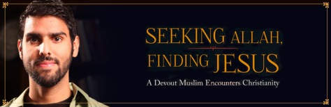 Seeking Allah Finding Jesus Banner