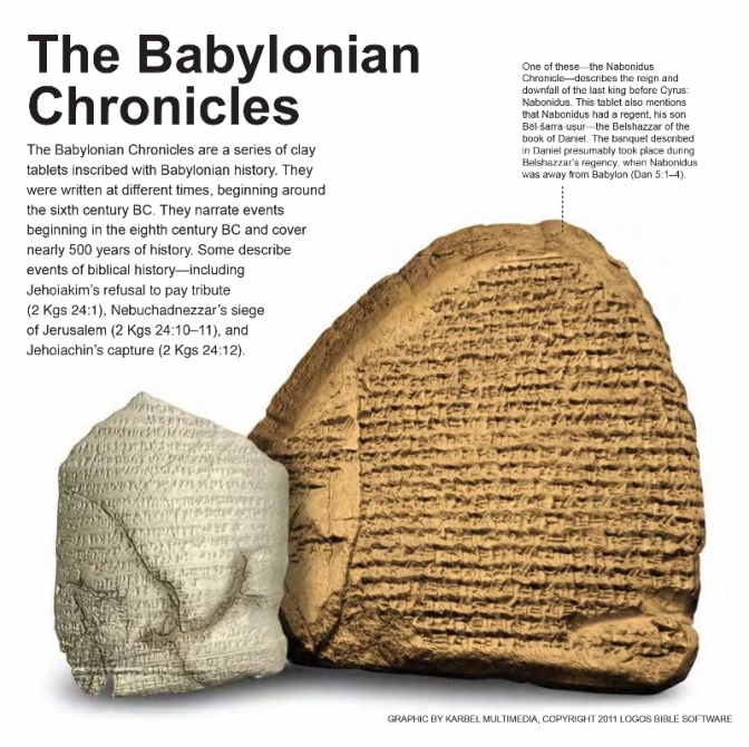 Biblical Nuggets: The Babylonian Chronicles