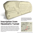 Inscription from Hezekiah's Tunnel