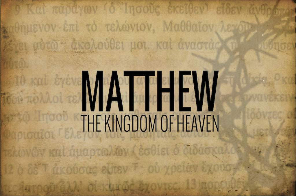 a personal review of the book of matthew in the bible Matthew bible study lesson sheets bible study lesson sheets-- these are lessons designed for either a class or personal study each lesson has questions, fill in the all the answers come from the bible itself index page studies in the book matthew outline and overview of the book.