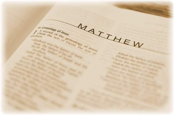 Brief Note on The Gospel of Matthew