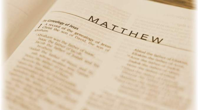 Brief Note on The Gospel of Matthew