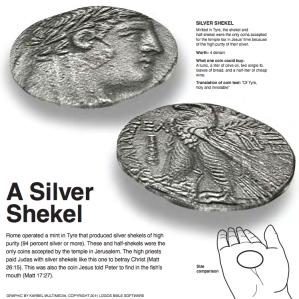 A Silver Shekel